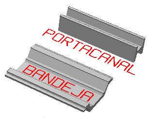 VIGA PORTA-CANALÓN  + BANDEJA